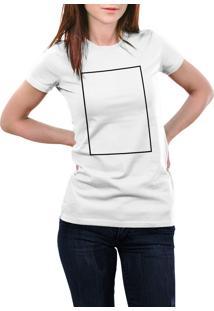 Camiseta Hunter Quadro Branca
