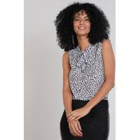 3f9ad7285a CEA. Regata Feminina Estampada Animal Print ...