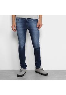 1113a3eea Calça Jeans Infantil Grifle Skinny Estonada Masculina - Masculino