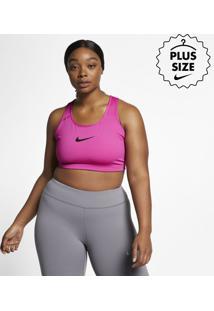 Plus Size - Top Nike Swoosh Feminino