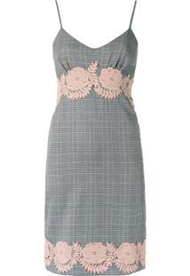 Iorane Vestido De Tweed - Preto