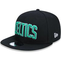 0db0e25a15c33 Boné 950 Boston Celtics Nba Aba Reta Snapback New Era - Masculino-Preto