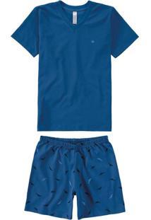 Pijama Azul Menino