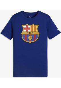 Camisa Nike Barcelona Evergreen Crest Infantil