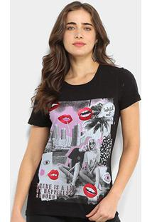 Camiseta Coca-Cola Watch Out Feminina - Feminino
