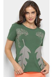 Camiseta Sommer Estampada Feminina - Feminino