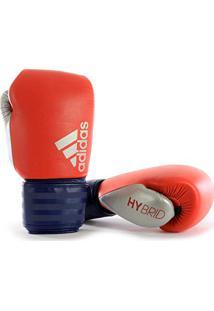 5e78572b0 Luva De Boxe Adidas Hybrid 200 Vermelho Azul 10 Oz