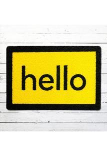 Capacho - Hello Amarelo