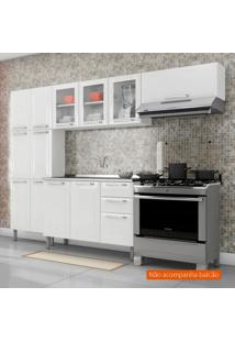 Cozinha Compacta Tarsila Ll 10 Pt Branca