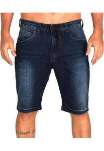 Bermuda Jeans Lost Relaxed Special Washed Masculina - Masculino