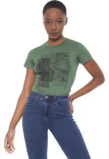 Camiseta Forum Estampada Verde
