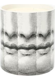 Fornasetti Vaso Para Vela - Preto