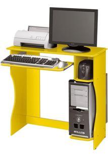 Mesa Para Computador Livia Amarelo