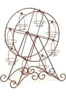Roda Gigante Decorativa Attic Marrom