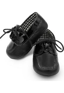 Sapato Babytonka B648-2 Preto