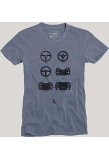 Camiseta Sb Evolucao Reserva Azul