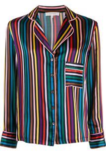 Chinti & Parker Pijama Com Listras - Preto