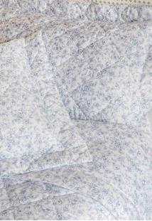 Colcha Queen Com Porta Travesseiro Matelada 300 Fios Vitória Azul - Scavone