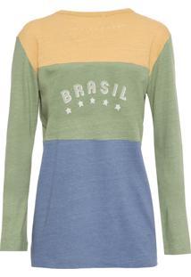 Camiseta Feminina Penalti - Verde