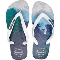 92a2a4500 Sandália Havaianas Hype Masculina - Masculino-Branco+Azul