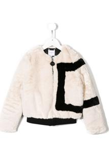 Givenchy Kids Jaqueta Cropped - Branco