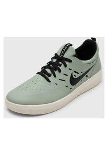 Tênis Nike Sb Nyjah Free Verde