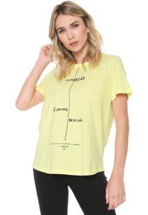 Camiseta Forum Inspiração Amarela