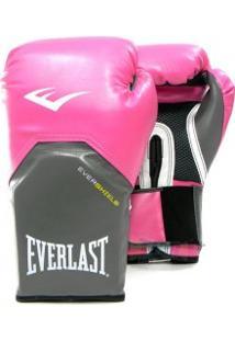 Luva Boxe Everlast Pro Style Rosa - Everlast