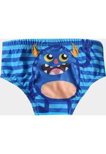 Sunga Infantil Tip Top Estampada - Masculino-Azul Claro 7990d3bda28
