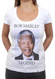 Legend - Camiseta Clássica Feminina