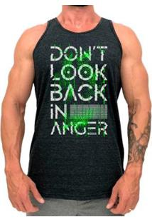 Regata Longline Mxd Conceito Don'T Look Back In Anger Masculina - Masculino