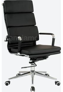 Cadeira Eames Soft Presidente