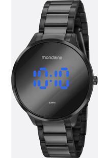 Relógio Feminino Digital Led Mondaine 32060Lpmvpe3