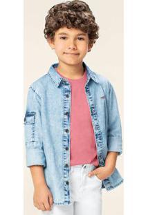 Camisa Azul Claro Jeans Tal Pai & Tal Filho