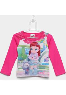 Blusa Infantil Brandili Rainbow Ruby - Feminino-Pink