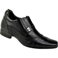 a90f097dd7 Sapato Social Couro Rafarillo Masculino - Masculino-Preto