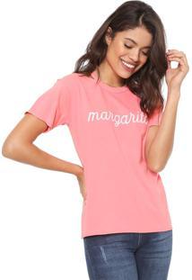 Camiseta Oh Boy Margarita Rosa