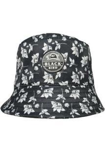 Chapéu Bucket Hats Black Bird Thb 38Fl Feminino - Feminino