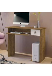 Mesa Para Computador Dalian Plus Mavaular Canion/Off White