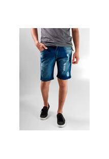 Bermuda Jeans Wolke Rasgada