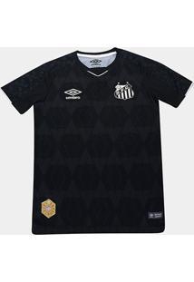 Camisa Santos Infantil Iii 19/20 S/N° - Torcedor Umbro - Unissex