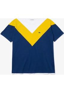 Camiseta Lacoste Relaxed Fit - Feminino