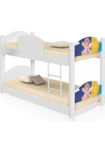 Beliche Infantil Fadinha Encantada Casah - Branco/Multicolorido - Menina - Dafiti