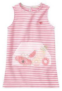 Vestido Lilica Ripilica Rosa Menina Vestido Lilica Ripilica Rosa Bebê Menina