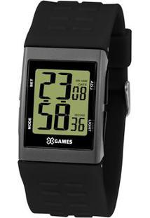 Relógio Digital Quartz Xgppd118Fxpx- Preto & Cinza Escurorient