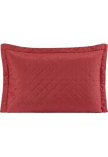 Porta Travesseiro Avulso Mr 01 Peça - Vermelho - Tricae