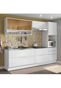 Cozinha Completa Linear 6 Pt 5 Gv Branco