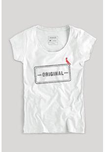 Camiseta Reserva Carimbo Original Feminino - Feminino