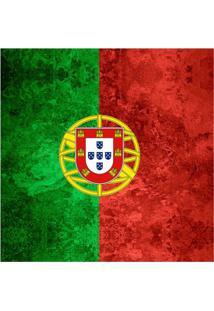 Quadro Impressão Digital Bandeira De Portugal 30X30