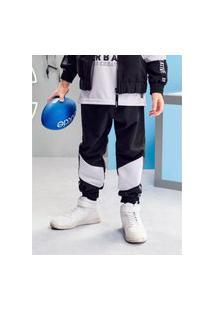 Calça Jogger Infantil Sport Preta Youccie